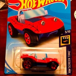 HOT WHEELS The Amazing Spider-Man Spider mobile